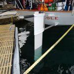 Emergency Rudder for HMCS Oriole